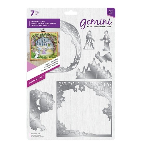 **BRAND NEW** Crafter's Companion Gemini Create-a-Card Die Set - Happily Ever After