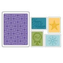 Sizzix® Textured Impressions™ Embossing Folder Set 5PK - Winter #3 by Stu Kilgour™