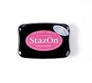 StazOn Fuchsia Pink Solvent Ink Pad