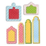 Framelits Die Set  12PK - Tags, Sentiments