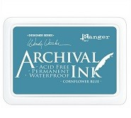 Ranger Archival Ink Pad - Cornflower Blue