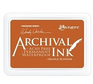 Ranger Archival Ink Pad -Orange Blossom