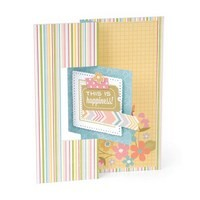 Sizzix Framelits Die Set 12PK - Card, Square Flip-its #2
