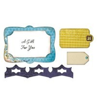 Framelits Die Set 4PK - Gift Card Holder by Karen Burniston