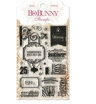 Bo♥Bunny® Clear Stamps - Holiday Wishes