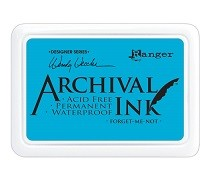 Ranger Archival Ink Pad - Forget-Me-Not