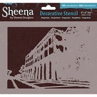 Sheena Douglass Decorative Stencil - Perspectives