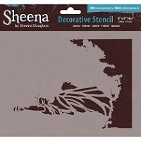 Sheena Douglass Decorative Stencil - Liberty