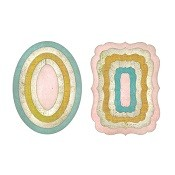 Framelits Die Set 11PK - Oval Cards by Paula Pascual