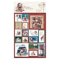 Papermania® Christmas with Wellington Collection - A5 Postage Stamps (32pcs)