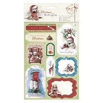 Papermania® Christmas with Wellington Collection - A5 Die-cut Toppers (2pk)