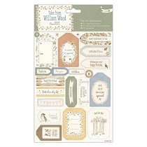 DoCrafts® Tales From Willson Wood - Die-cut Sentiments