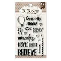 Bo♥Bunny® Clear Stamps - Amen