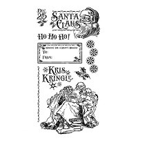 Graphic 45 Cling Mounted Stamp Set - St. Nicholas #3