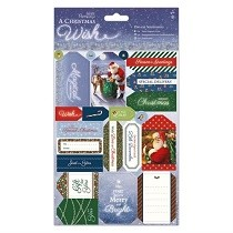 Papermania® A Christmas Wish Collection - Die Cut Sentiments (2pk)
