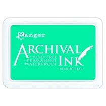 Ranger Archival Ink Pad - Paradise Teal