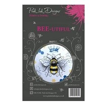 **BRAND NEW** Pink Ink Designs® A5 Clear Stamp Set - Bee-utiful