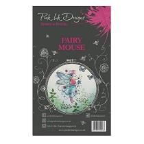 **BRAND NEW** Pink Ink Designs® A6 Clear Stamp Set - Fairy Mouse