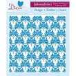 8in x 8in Embossalicious™ Embossing Folder by Crafter's Companion™ - Regency Damask
