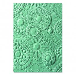 Sizzix® 3-D Textured Impressions™ Embossing Folder - Mosaic Gems by Courtney Chilson®