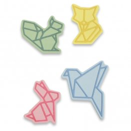 Sizzix® Thinlits™ Die Set 8PK - Origami Animals by Olivia Rose®