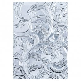 Sizzix® 3-D Texture Fades™ Embossing Folder - Elegant by Tim Holtz®