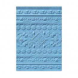 Sizzix® 3-D Textured Impressions™ Embossing Folder - Folk Art Pattern by Courtney Chilson®