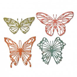 Sizzix® Thinlits™ Die Set 4PK - Scribbly Butterflies by Tim Holtz®