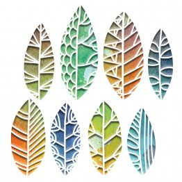 Sizzix® Thinlits™ Die Set 8PK - Cut Out Leaves by Tim Holtz®