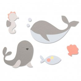 Sizzix® Bigz™ Die - Ocean Friends by Olivia Rose®