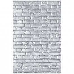 Sizzix® 3-D Texture Fades™ Embossing Folder - Brickwork by Tim Holtz®