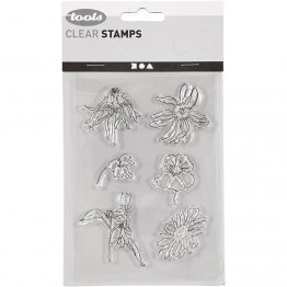 Creativ Company® Clear Stamp Set - Summer Wild Flower