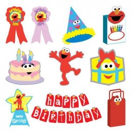 Cricut® Cartridge - Elmo's Party