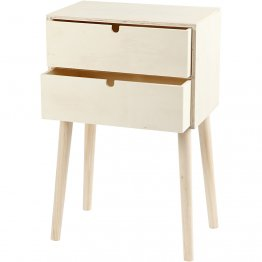 Creativ Company® Side Table with Drawers