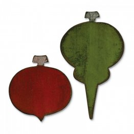 Sizzix® Bigz™  Movers & Shapers™ Die - Carved Ornaments By Tim Holtz®