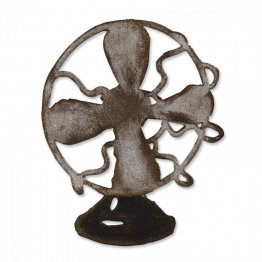 Sizzix® Bigz™ Die - Vintage Fan By Tim Holtz®