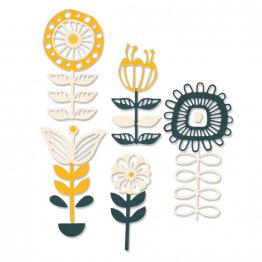 Sizzix® Thinlits™ Die Set 13PK - Stackable Florals by Jenna Rushforth®