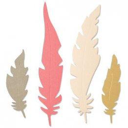 Sizzix® Bigz™ Die - Natural Feathers by Jenna Rushforth®