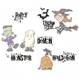 Sizzix® Clear Stamps - Fright Night by Pete Hughes®