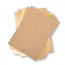 "Sizzix™ Surfacez - 8"" x 11.5"" ( 50PK) The Opulent Card Stock Pack - Gold"