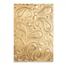 Sizzix® 3-D Textured Impressions™ Embossing Folder - Paisley by Georgie Evans®
