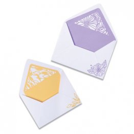 Sizzix® Thinlits™ Die Set 6PK - Delicate Envelope Liners by Olivia Rose®