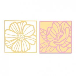 Sizzix® Thinlits™ Die Set 3PK - Floral Card Fronts by Olivia Rose®