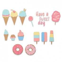 Sizzix® Thinlits™ Die Set 5PK - Sweet Treats by Jessica Scott®