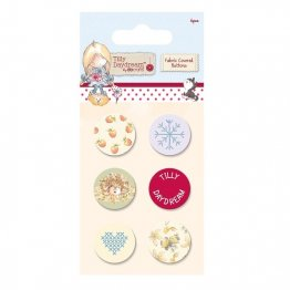 Tilly Daydream Collection - Fabric Coverd Buttons (6pcs)