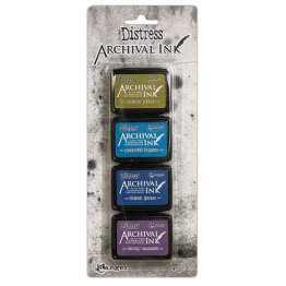 Tim Holtz® Distress Archival Mini Ink Kit #2