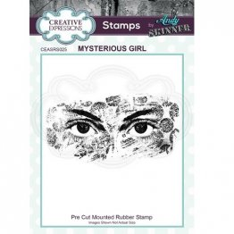 Creative Expressions® Stamps by Andy Skinner® - Mysterious Girl