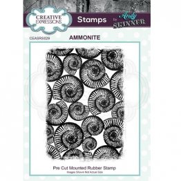 Creative Expressions® Stamps by Andy Skinner® - Ammonite