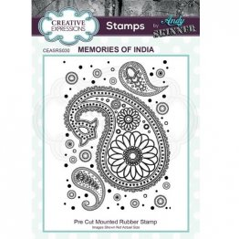 Creative Expressions® Stamps by Andy Skinner® - Memories of India