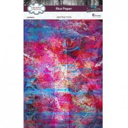 Creative Expressions® Rice Paper Pack (6 pcs) by Andy Skinner® - Abstraction